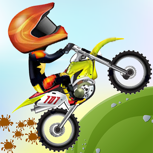 爬坡:摩托车赛车 賽車遊戲 App LOGO-APP試玩