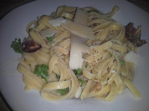 Mertzie's Bacon Carbonara Style Pasta Recipe