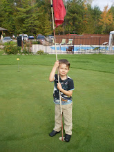Photo: Parker on the green - this one`s for you uncle darren