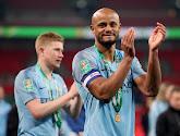 Vincent Kompany félicite Manchester City