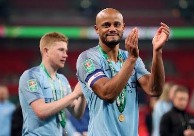 🎥 Vincent Kompany félicite Manchester City