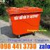 Thùng rác 660 lít  composite giá khuyến mãi