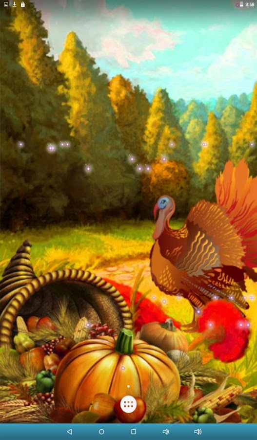 Thanksgiving Live Wallpaper- screenshot