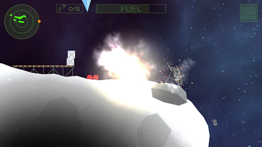 Lunar Rescue Mission Pro - screenshot