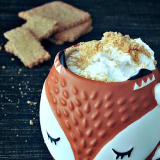 Toasty Graham Coffee Latte with Cinnamon Whip