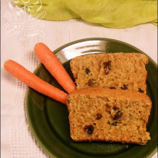 Very Low Fat Carrot & Apple Loaf