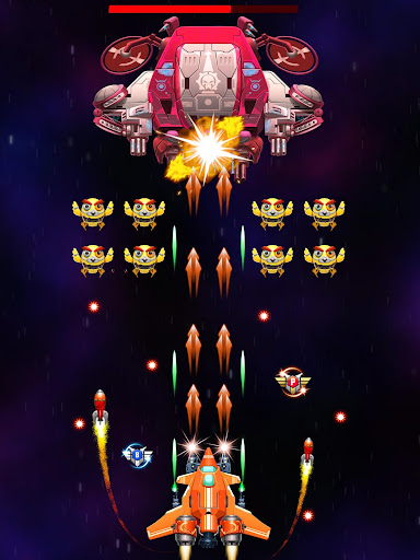 Strike Galaxy Attack: Alien Space Chicken Shooter 5.6 gameplay | by HackJr.Pw 12