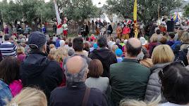 Cientos de asistentes a la recreación de la Paz de Las Alpujarras
