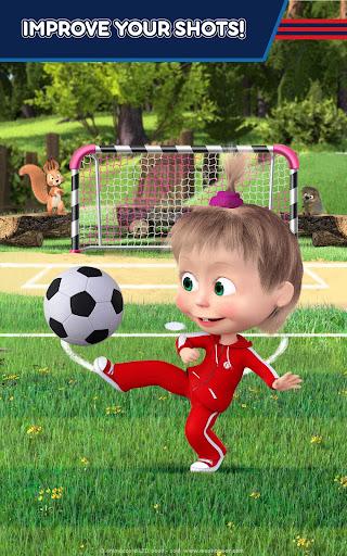Masha and the Bear: Football Games for kids 1.3.7 screenshots 14