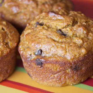 Chocolate Chip Pumpkin Quinoa Muffins