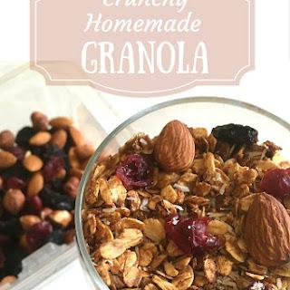Easy Stovetop Granola