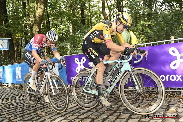 """Van der Poel toonde voorbije wegseizoen opnieuw zijn instinct: """"Mathieu geprikkeld door het feit dat Wout het wél kon"""""""