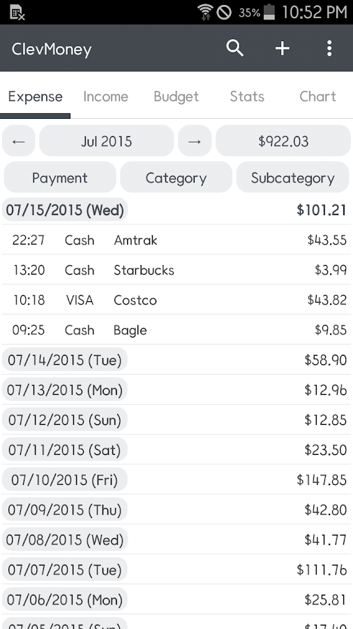 ClevMoney - Personal Finance- screenshot