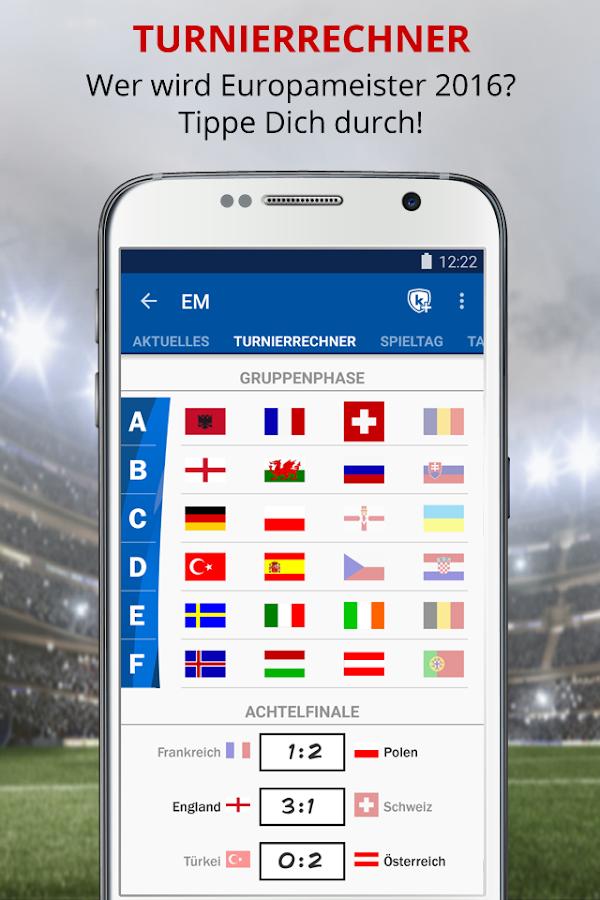 Fussball Em App