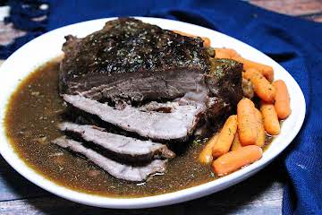 4 Ingredient Fix It and Forget It Chuck Roast