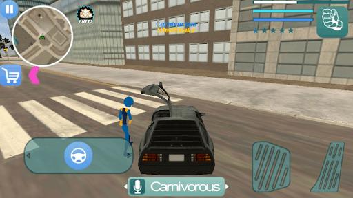 Oggy Stickman Rope Hero : Vice Town screenshots 3