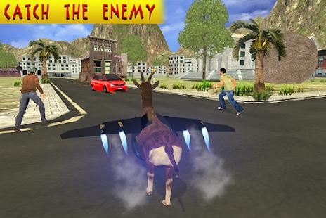 Flying Crazy Goat Simulator - náhled
