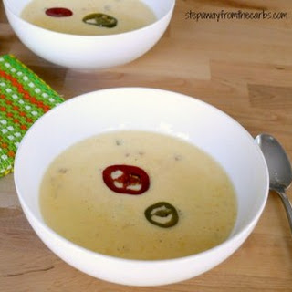 Cheese Soup with Jalapenos