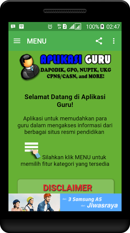 Aplikasi Guru- screenshot