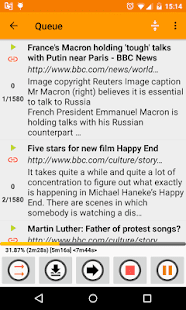 Talk Text (Read Aloud) Orange Screenshot