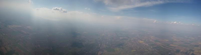 Photo: Panoráma egy termik tetején. (Az utolsó képkocka rossz lett)