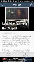Screenshot of KATU News Mobile