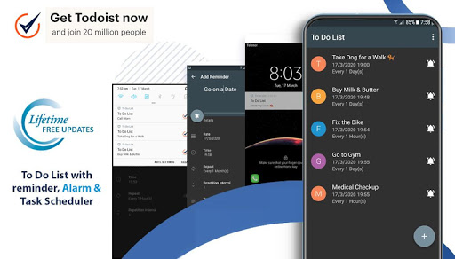 To Do List with reminder, Alarm and Task Scheduler 2.1.2 screenshots 1