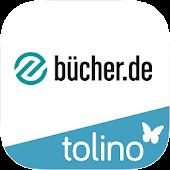 bücher.de Lese-App mit tolino
