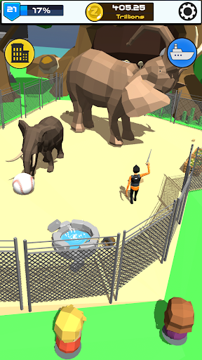 Idle Zoo 3D: Animal Park Tycoon android2mod screenshots 12
