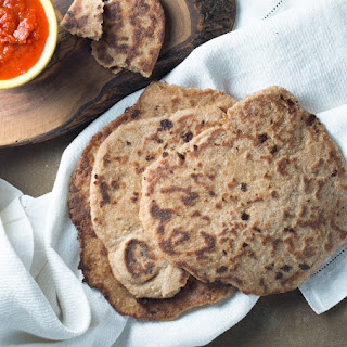 Whole Wheat Naan.