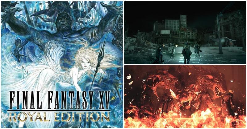 [Final Fantasy XV] การกลับมาของราชา FFXV !