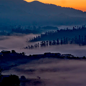 Misty morning by Neeraj Pant - Landscapes Mountains & Hills