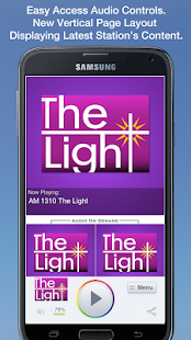 AM 1310 The Light - screenshot thumbnail