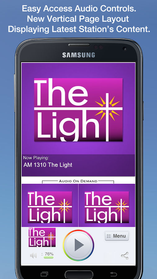 AM 1310 The Light - screenshot