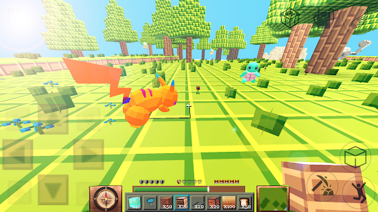 Pixelmon craft for mcpe - náhled