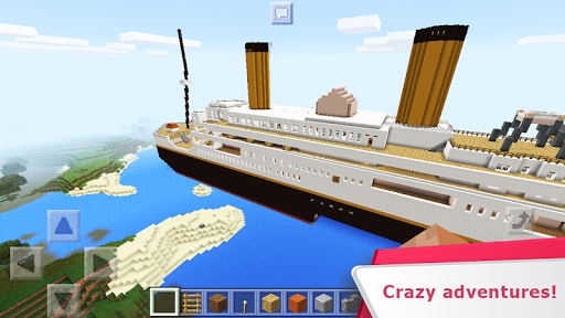 Ship Legend. MiniGame Map for MCPE
