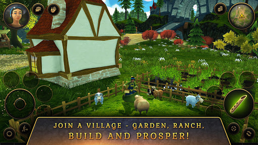 3D MMO Villagers & Heroes 4.40.4 (r53268) screenshots 6