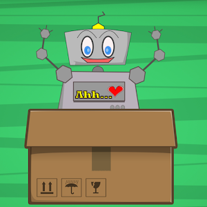 Robot Into Box for PC and MAC