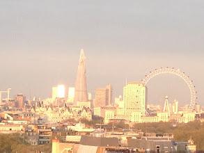Photo: London, sunset