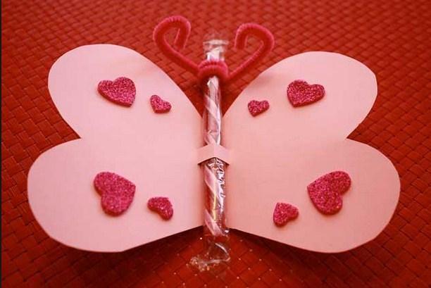 homemade valentines screenshot