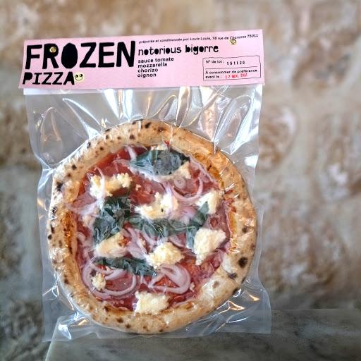 Louie Louie Frozen Pizza