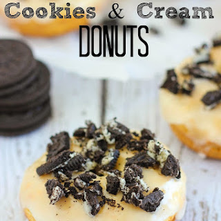 Cookies & Cream Donuts.