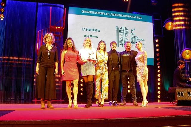 Primer Premio al Mejor Largometraje Nacional fue para 'La Innocència'.