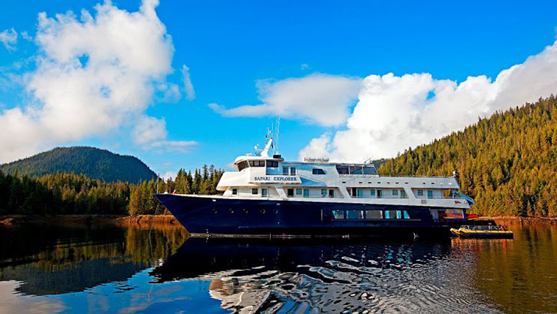 Explore bays and coves in Alaska and the Hawaiian Islands on Safari Explorer.