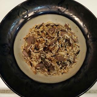 Mushroom Wild Rice with Sage and Cloves Recipe