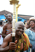 Photo: Kundum festival, Busua, west coast, Ghanan, one elder