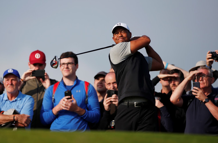 tiger woods defends his lack of golf ahead of british open