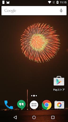 花火写真フォトの壁紙in横須賀Japan Fireworks