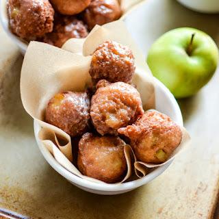 Glazed Cinnamon Apple Fritters Recipe