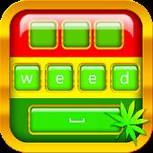 Weed Keyboard Theme